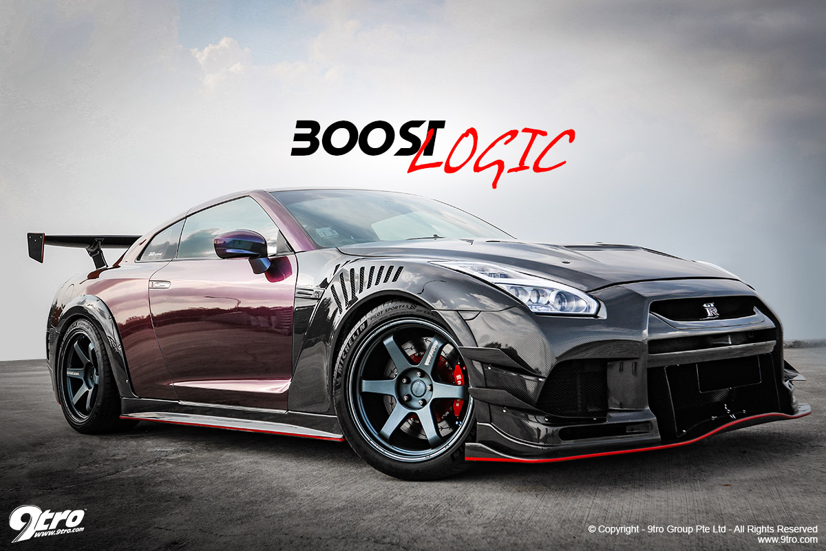 Alfred's Nissan GT-R - Boost Logic