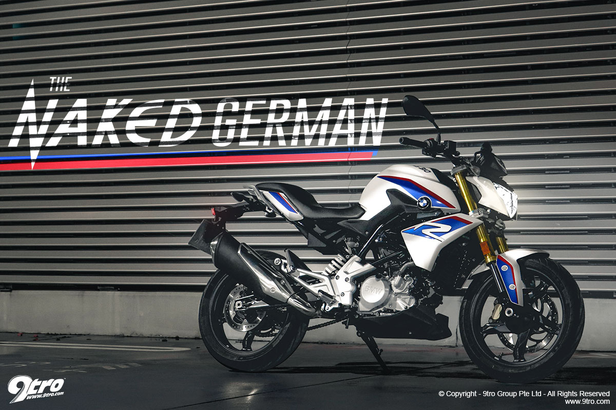 BMW G310R - The Naked German