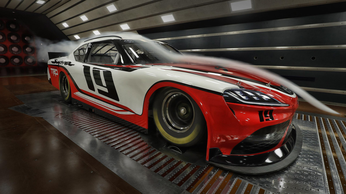 Toyota Supra gets back to Amercian racing in NASCAR Xfinity Series