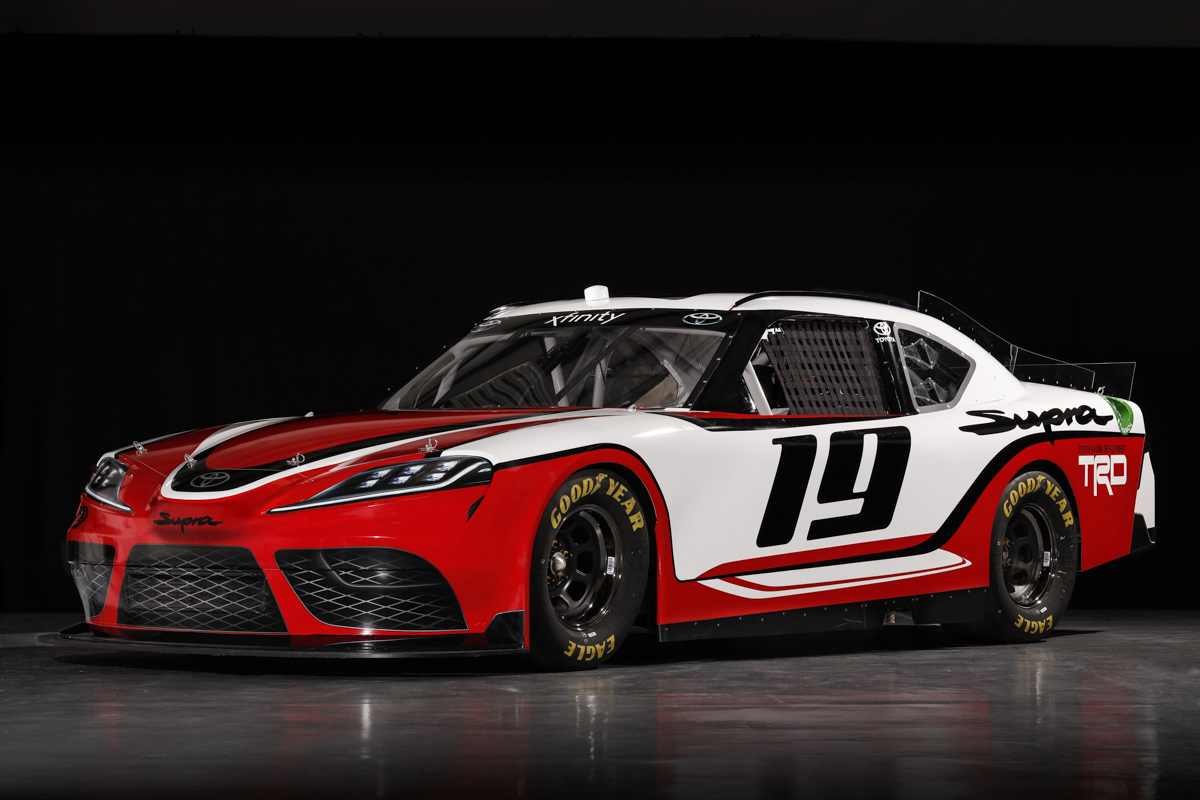 Toyota Supra returns to NASCAR Xfinity Series