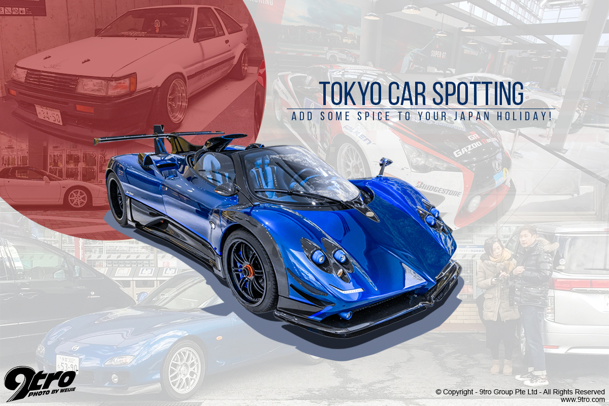 Tokyo Car Spotting - Add some spice to your Japan holiday!