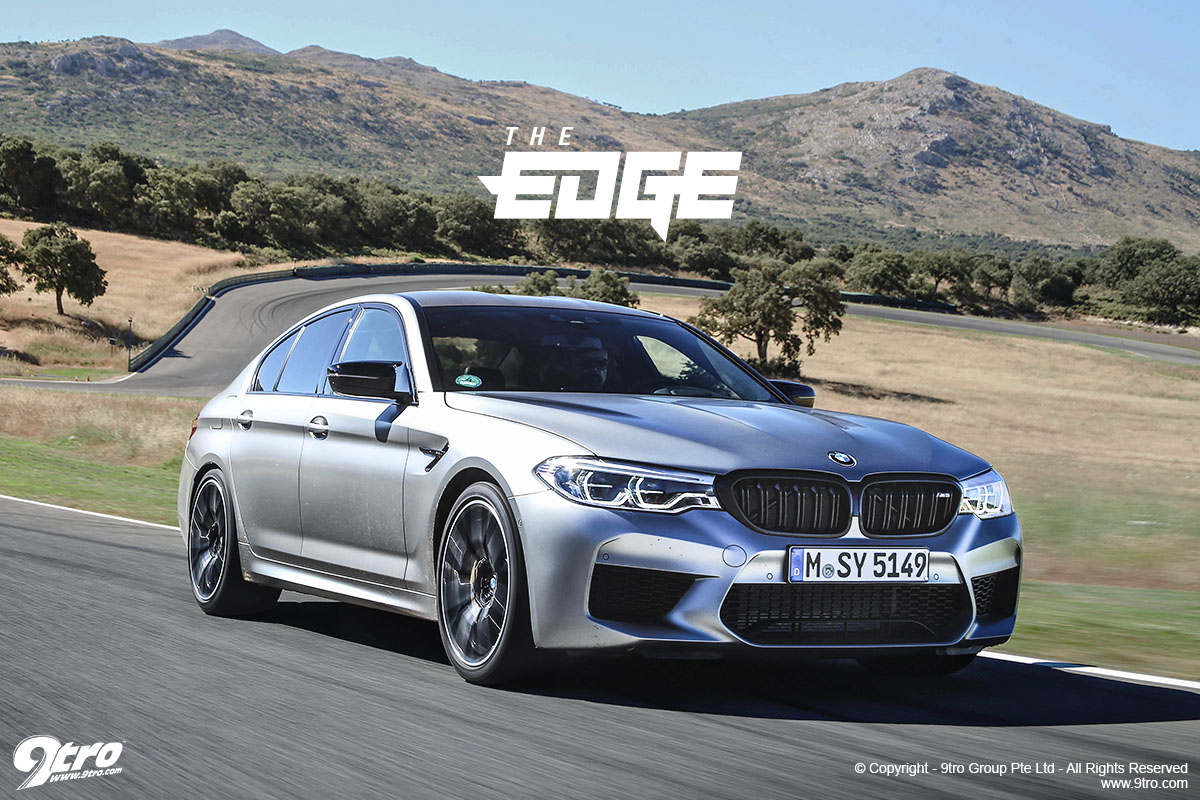 BMW M5 Competition - The Edge