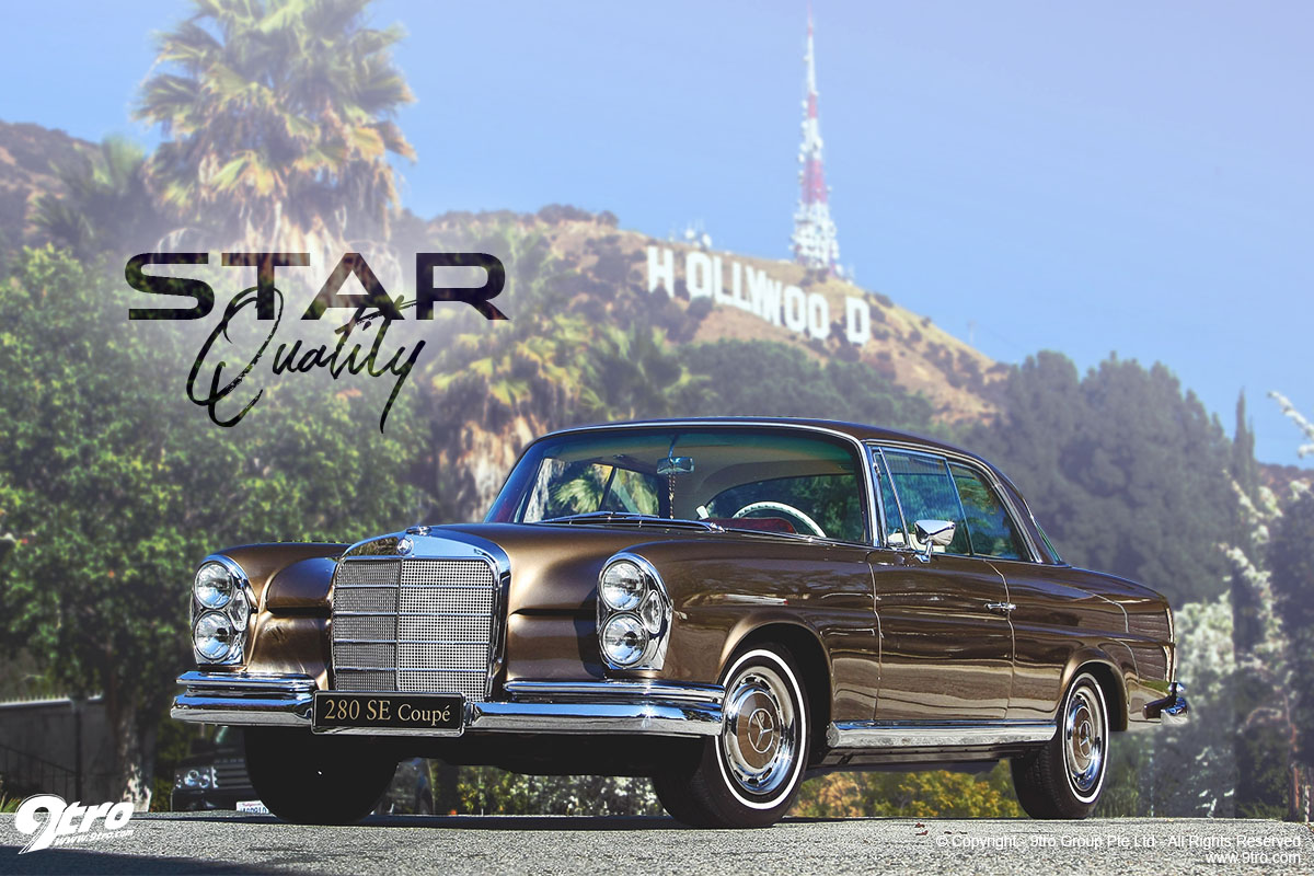 Mercedes-Benz 280SE - Star Quality