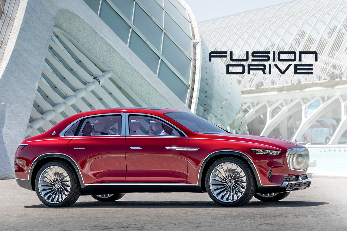 Vision Mercedes-Maybach Ultimate Luxury - Fusion Drive