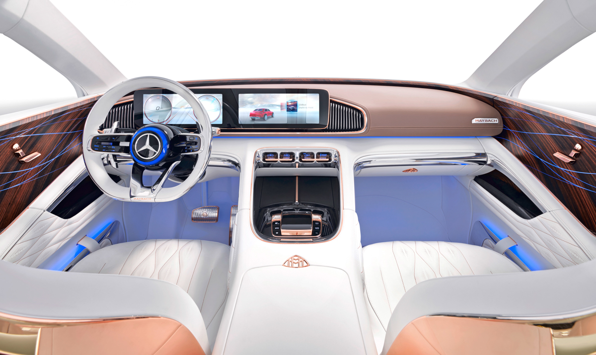 Vision Mayback Ultimate Luxury - Fusion Drive