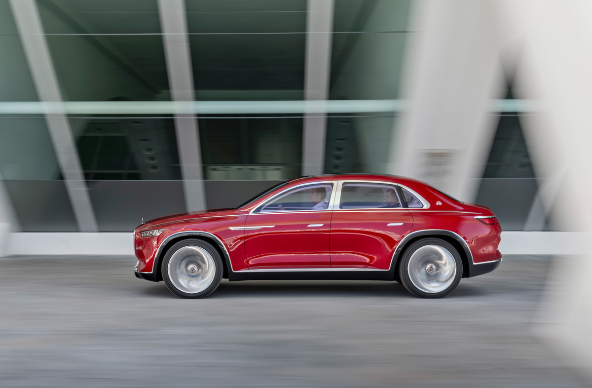 Vision Maybach Ultimate Luxury - Fusion Drive
