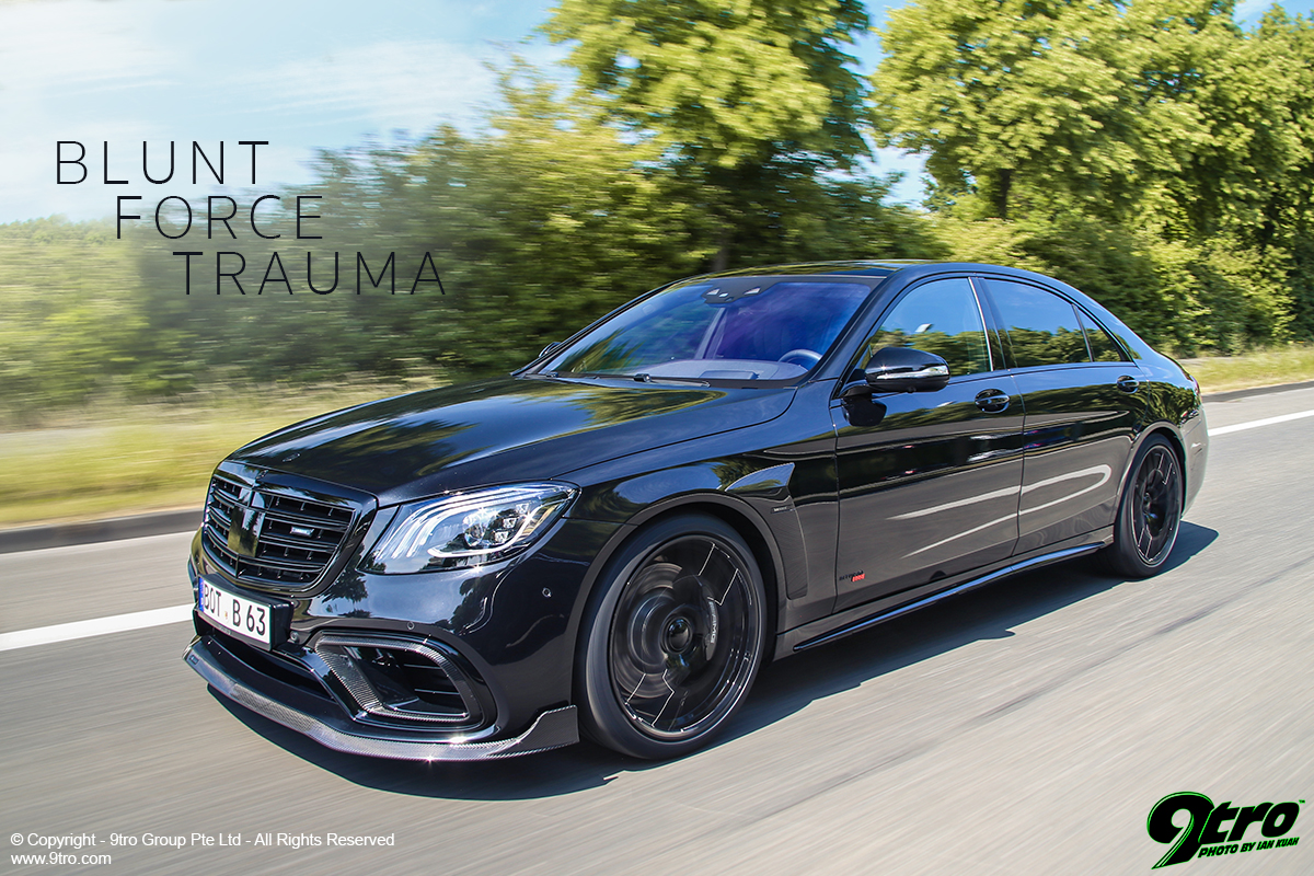 Brabus 800 S63 4Matic - Blunt Force Trauma