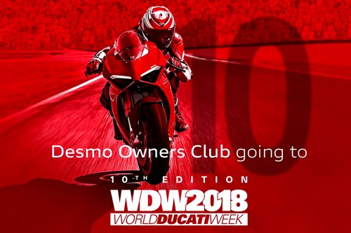 World Ducati Week 2018 - Desmo Owners Club