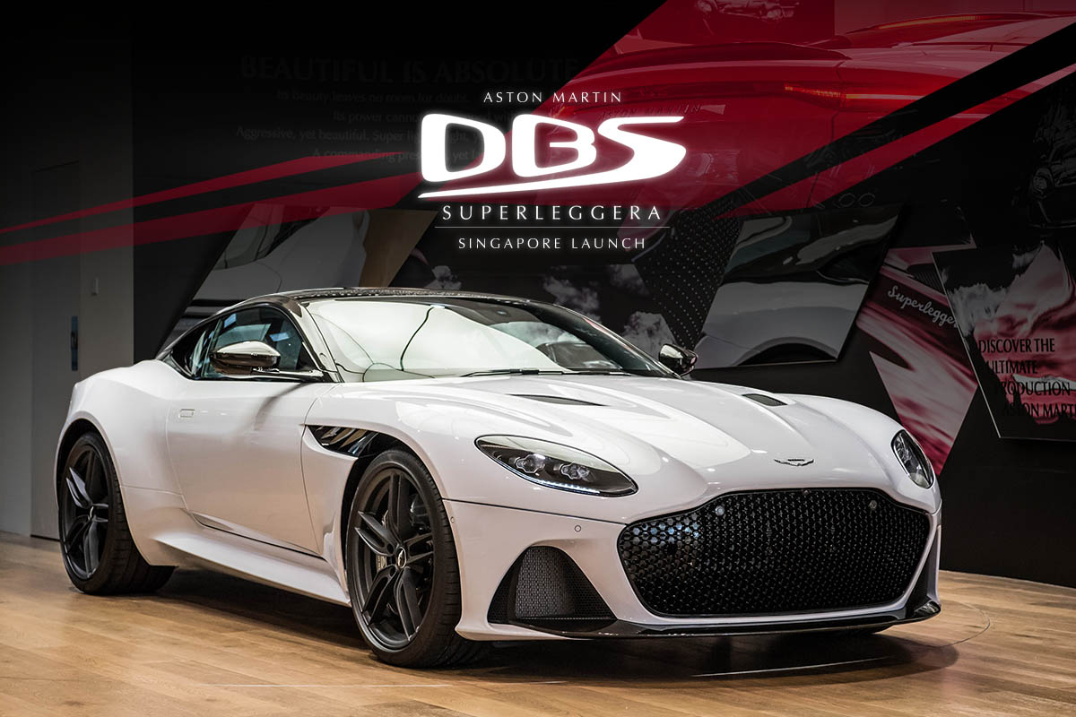 Aston Martin DBS Superleggera - Singapore Launch