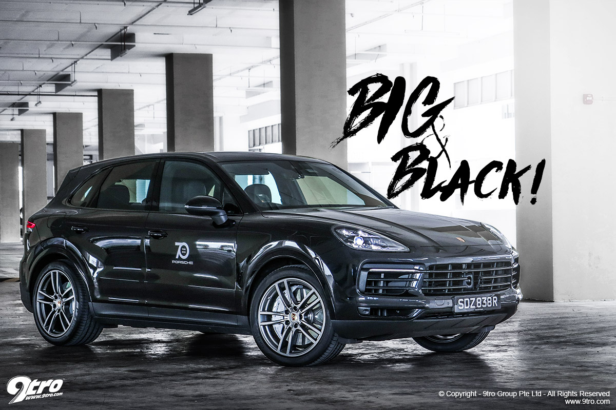 Porsche Cayenne S - Big & Black!