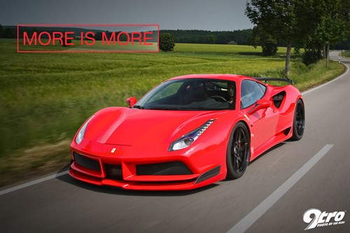 Novitec Rosso 488 N-Largo - More is More