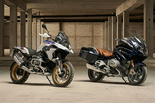 The new BMW R 1250 GS and the new BMW R 1250 RT