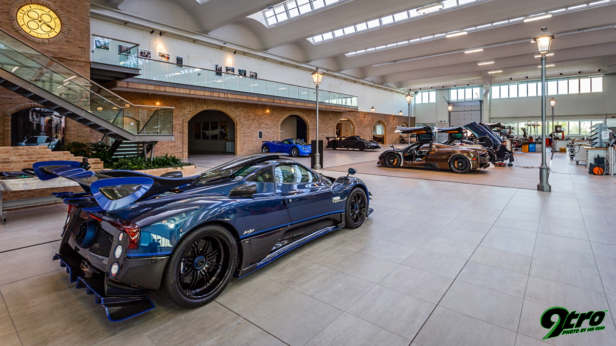 Pagani Factory Visit - The Artisan - 9tro