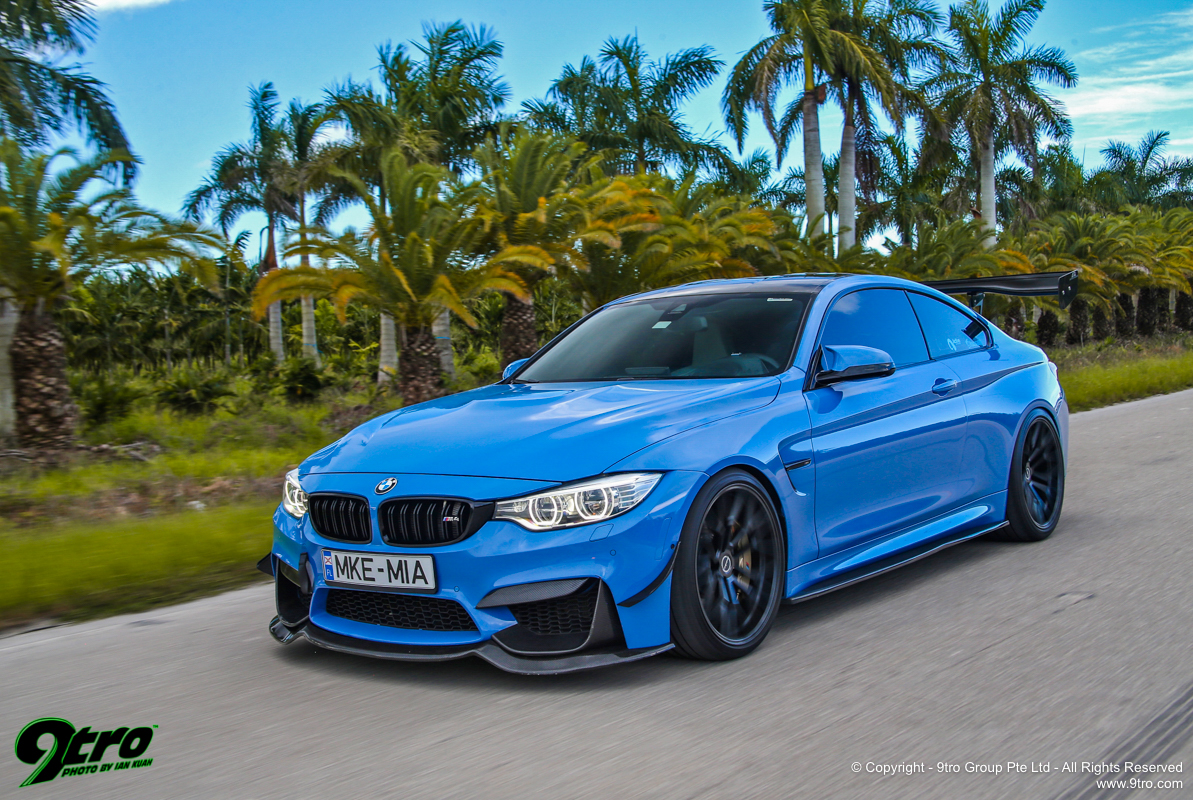 Active Autowerke M4 Coupe - Bad Ass In Blue