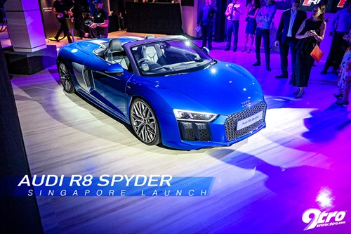 Audi R8 Spyder - Singapore Launch