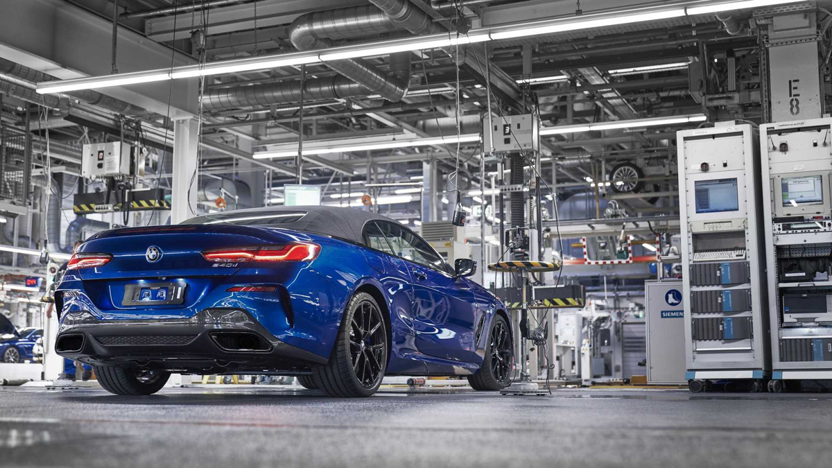 2019 BMW 8 Series Convertible Enters Production In Two Flavors