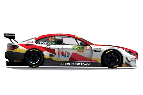 BMW M6 GT3 at the 2018 FIA GT World Cup