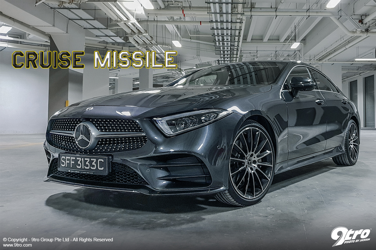 Mercedes-Benz CLS 450 - Cruise Missile