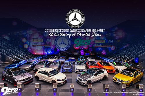 2018 Mercedes Benz Owners Singapore Mega-Meet - A Gathering of Pointed Stars