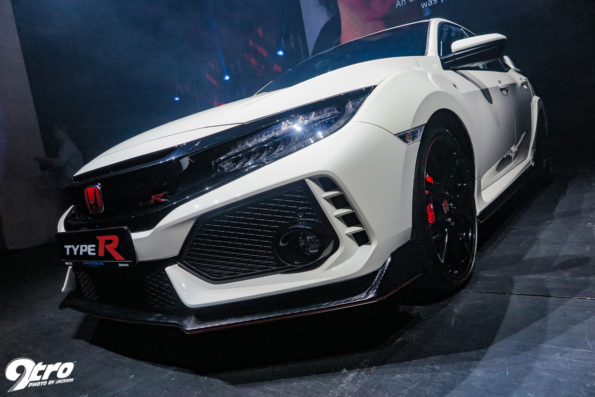Superb Honda Civic Type R   Singapore Launch