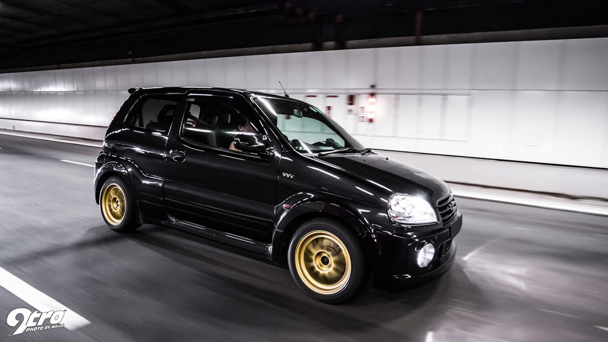 After Its Introduction In The 2002 Edition Of WRC Suzuki Launched Ignis Sport 2003 That Was Based On Three Door