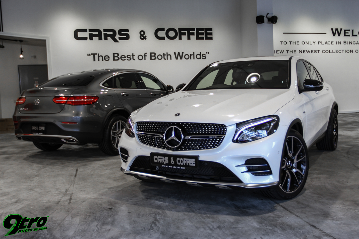 MercedesAMG GLC And Coupe Twin Peaks Tro - Twin peaks car show
