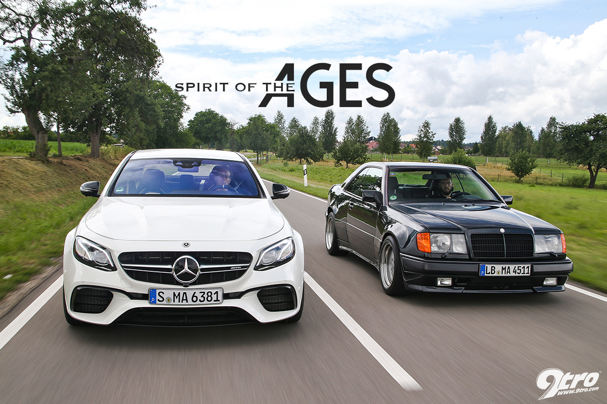 AMG Hammer vs. E63 S AMG - Spirit of the Ages