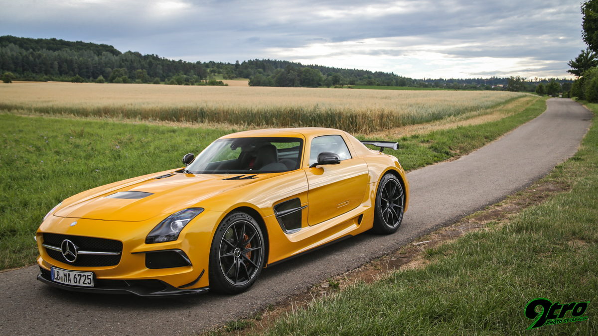 SLS AMG Black Series v AMG GT-R - Way Of The Warrior