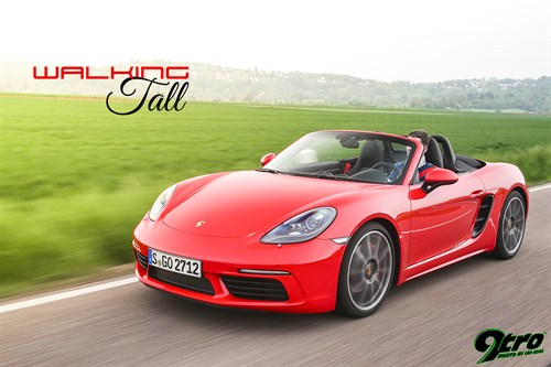 Porsche 718 Boxster – Walking Tall