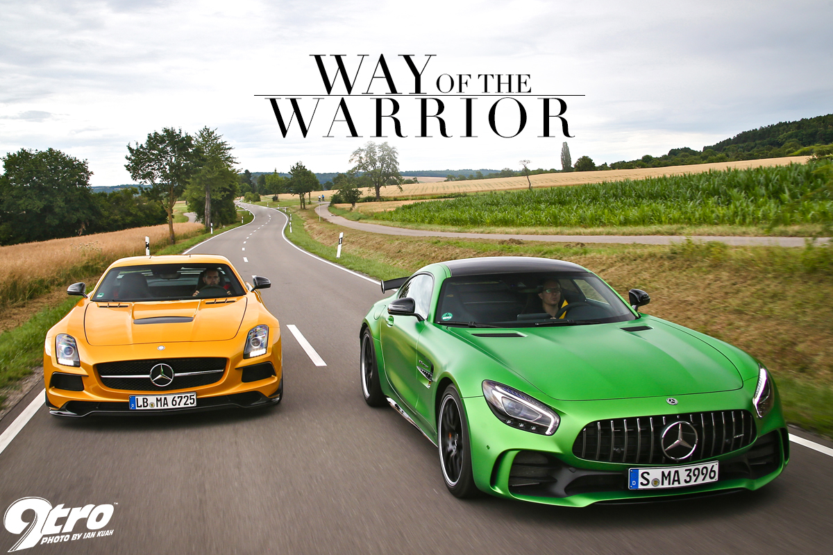 SLS AMG Black Series Vs. AMG GT R   Way Of The Warrior