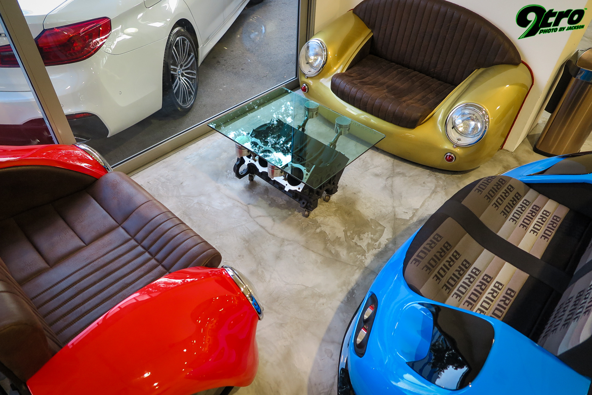 Cars & Coffee Showroom Feature
