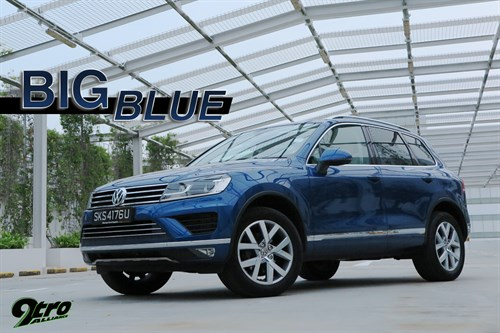 Volkswagen Touareg – Big Blue