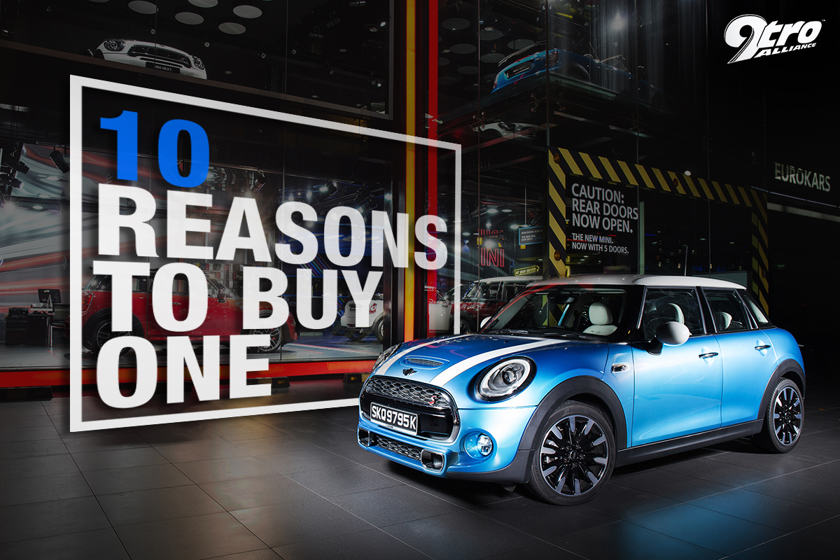 mini cooper s 10 reasons to buy one 9tro. Black Bedroom Furniture Sets. Home Design Ideas