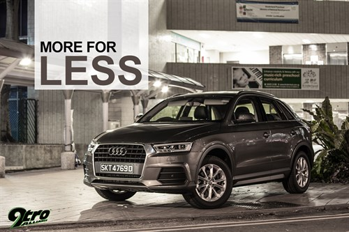Audi Q3 - More for Less