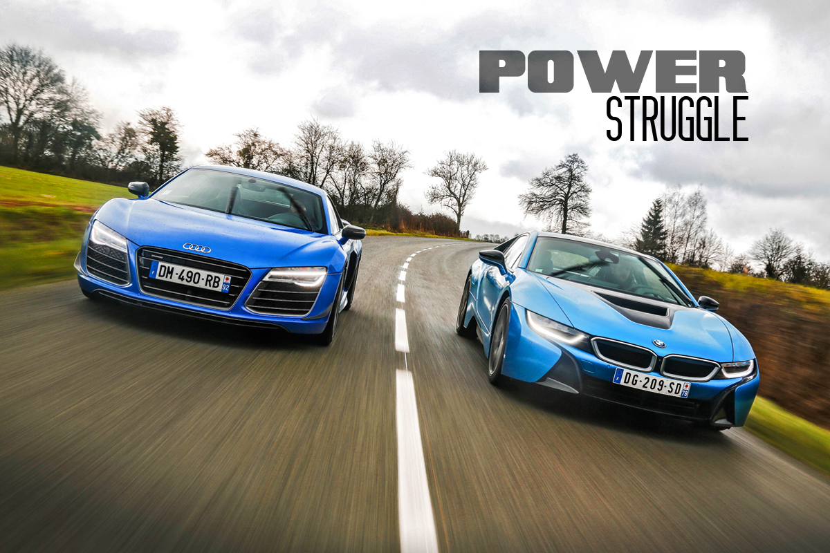 Audi R LMX Vs BMW I Power Struggle Tro - Audi vs bmw