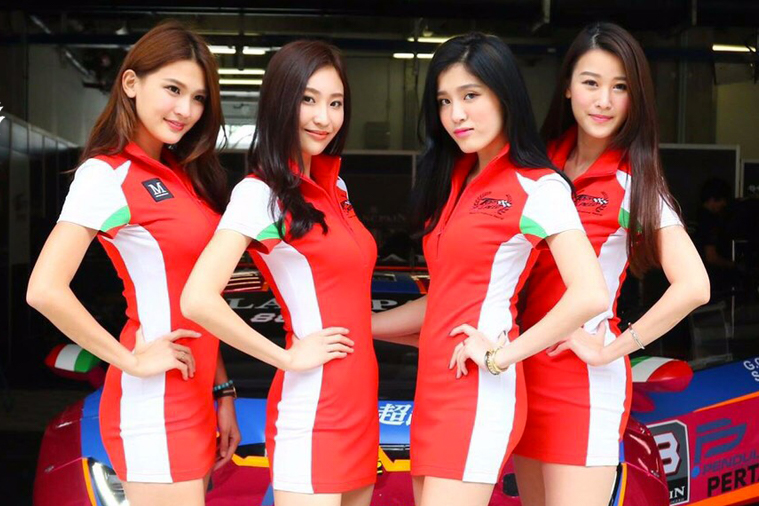 2017 Blancpain GT Series Asia - Taiwan Top Speed 'Angels'