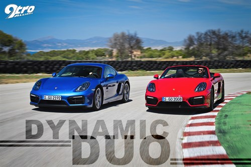 Porsche Boxster & Cayman GTS – Dynamic Duo