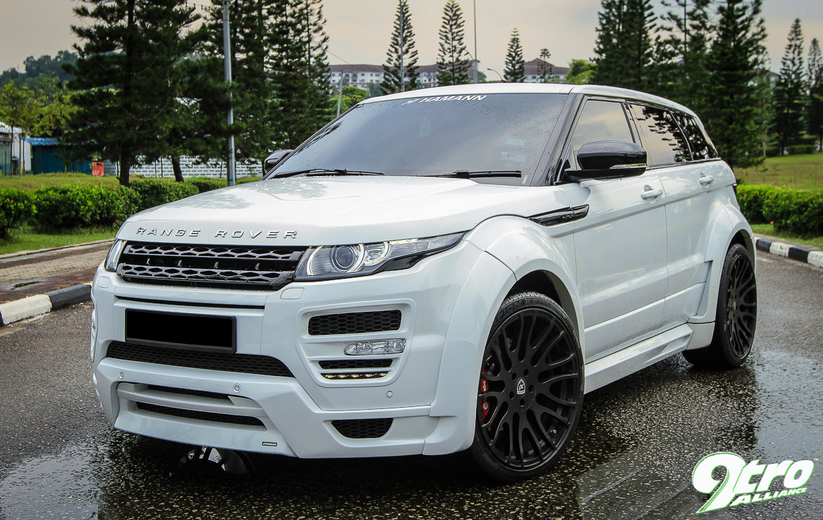 range rover evoque hamann evoked 9tro. Black Bedroom Furniture Sets. Home Design Ideas