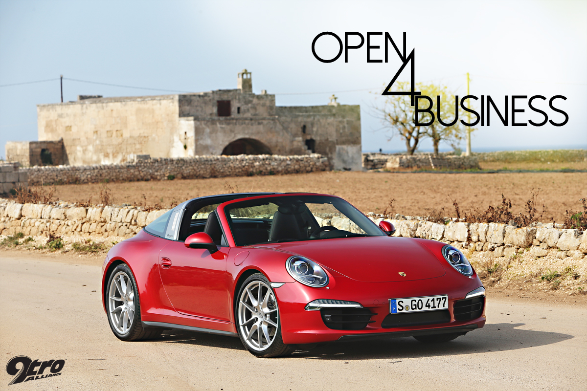 Porsche 911 Targa Open 4 Business 9tro
