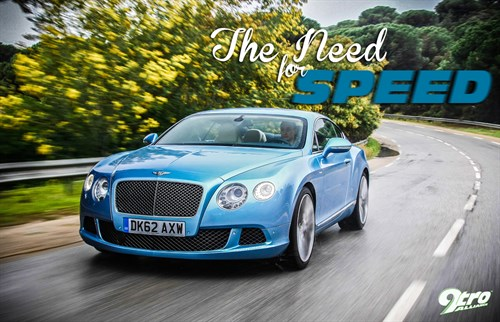 Bentley GT Speed - The Need for Speed
