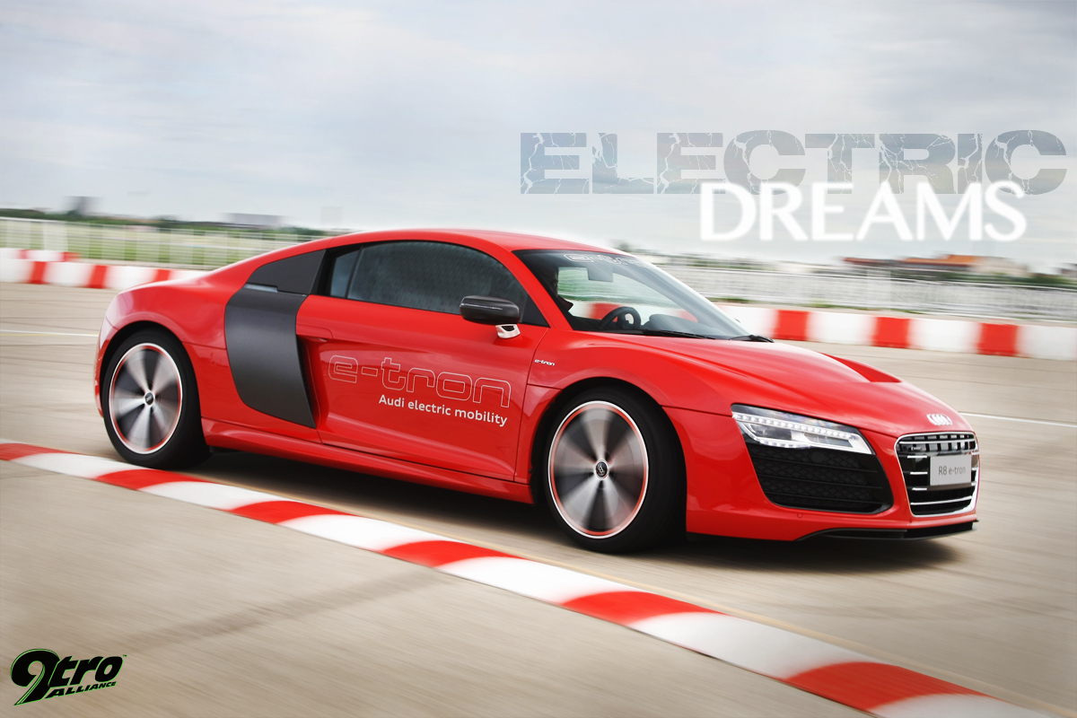 Audi R Etron Electric Dreams Tro - Audi r8 etron