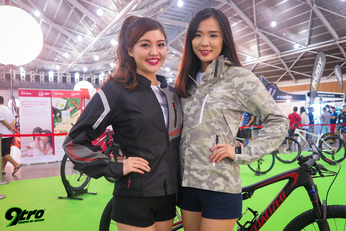 2017 Singapore Bike Show - Part 2 (Models)
