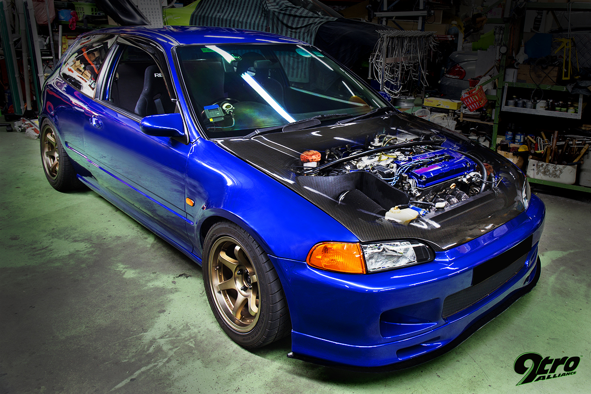 Honda Civic Eg6 Built Not Bought 9tro