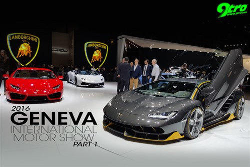2016 Geneva International Motor Show - Part 1