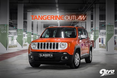 Jeep Renegade - Tangerine Outlaw