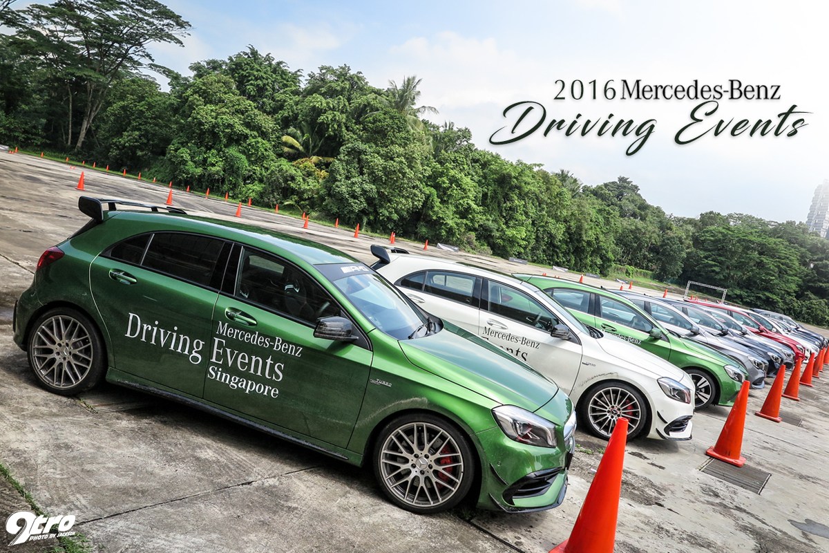 2016 Mercedes-Benz Driving Events