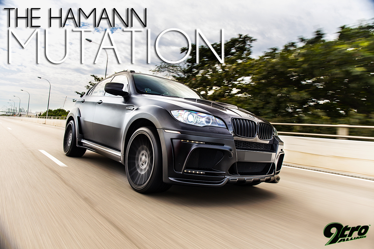 hamann bmw x6 m tycoon evo m the hamann mutation 9tro. Black Bedroom Furniture Sets. Home Design Ideas