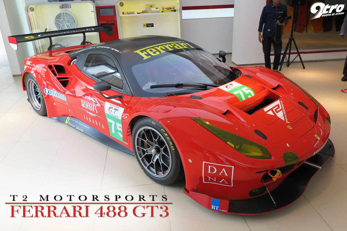 t2 motorsports ferrari 488 gt3 9tro. Black Bedroom Furniture Sets. Home Design Ideas