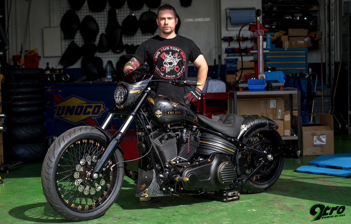 King Kustom Bike - The Hoe