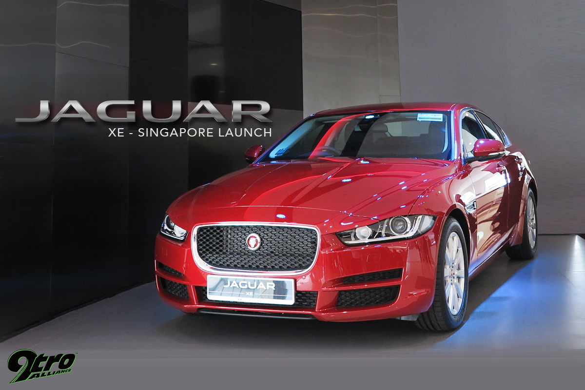 Jaguar XE Singapore Launch